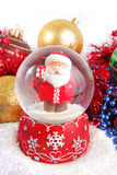 Christmas decorate composition Royalty Free Stock Image