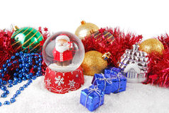 Christmas decorate composition Stock Photography