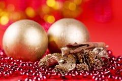 Christmas decorated Stock Photo