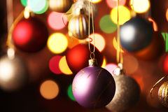 Christmas decorated Royalty Free Stock Photos