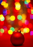 Christmas decorated Royalty Free Stock Photo