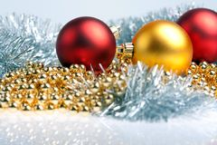 Christmas decorated Royalty Free Stock Photography
