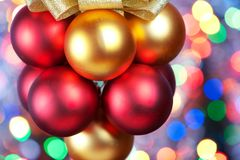 Christmas decorated Royalty Free Stock Images