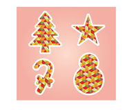 Christmas Decorated Element Stock Photos