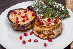 Christmas Decorated Food Stock Photo