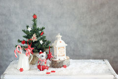 Christmas decorated Stock Image