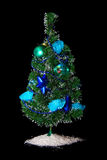 Christmas decorated tree Stock Photography
