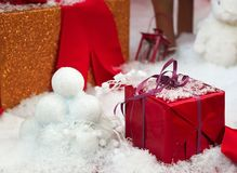 Christmas decorated for royalty free stock photography