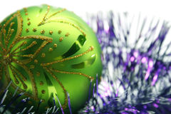 Christmas decorating Royalty Free Stock Photo