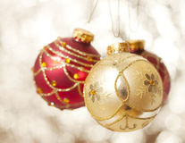 Christmas decoratio Stock Images