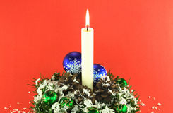 Christmas decoration 01. Royalty Free Stock Image