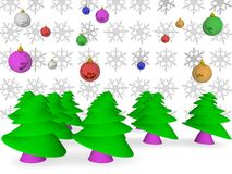 Christmas decoration. An image of the delightful Christmas decorations Stock Image