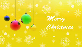 Christmas Decoration. Background possible to use for printing and project Royalty Free Stock Photos