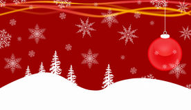 Christmas Decoration. Background possible to use for printing and project Royalty Free Stock Photography
