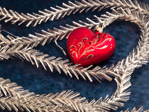 Christmas Decoration. Christmas and New Year decorations. Close up Stock Photos