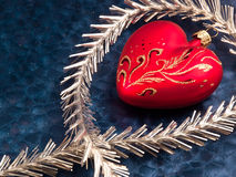 Christmas Decoration. Christmas and New Year decorations. Close up Royalty Free Stock Images