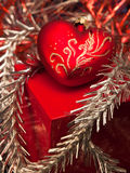 Christmas Decoration. Christmas and New Year decorations. Close up Royalty Free Stock Image