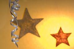Christmas decoration. A christmas decoration with star Stock Image