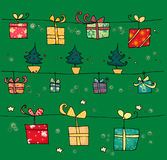 Christmas decoration. Decorative Christmas illustration. Digital colors Royalty Free Stock Photography