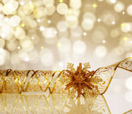 Christmas Decoration. Beautiful Christmas Decoration.With copy-space stock image