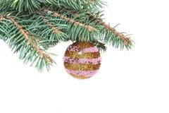 Christmas decoration. Isolated on white background Stock Photo
