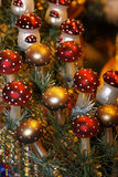 Christmas decoration. In Christmas decoration for the tree Royalty Free Stock Image