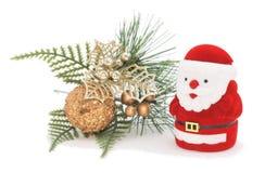 Christmas decoration. Isolated on white Stock Photos