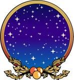Christmas Decoration. Color cartoon artwork line-art royalty free illustration