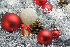 Christmas decoration stock photography
