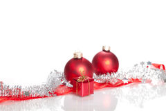 Christmas Decoration. Isolated on a white background Royalty Free Stock Photos