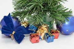 Christmas decoration. Photo of christmas decoration on white background Stock Photo