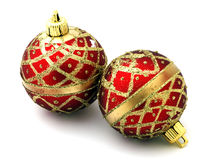 Christmas decoration. On white background Royalty Free Stock Image