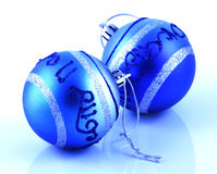 Christmas decoration. On white background Stock Images