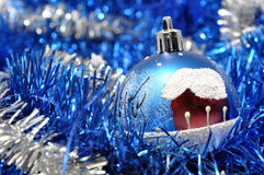 Christmas decoration. Christmas background with Christmas decoration Royalty Free Stock Images