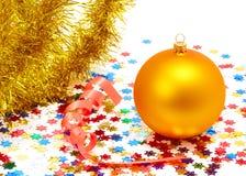 Christmas decoration. On white background Stock Images