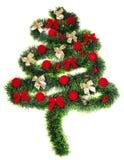 Christmas decoration. Isolated on white background Royalty Free Stock Photos