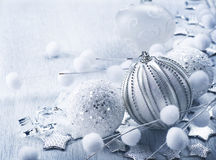Christmas Decoration. Christmas Bauble. Elegant Vintage Christmas Card Royalty Free Stock Photography