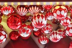 Christmas Decoration. At Shopping Mall Stock Photo