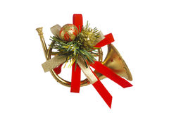 Christmas Trumpet Images.Christmas Decoration Stock Photo Image Of Greeting
