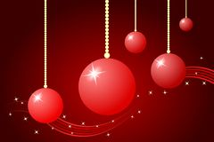 Christmas Decoration. Vector illustration of Christmas decoration Stock Photography