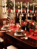 Christmas decoration. On the table royalty free stock image
