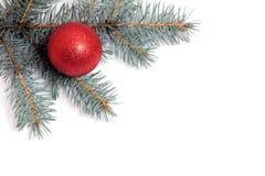 Christmas decoration. On pine tree Stock Photo