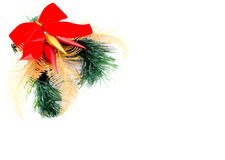 Christmas decoration. On white background Royalty Free Stock Photos