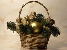 Christmas decoration. Home decoration Royalty Free Stock Photography