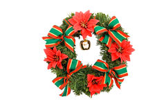 Christmas decoration. Advent,wreath,isolated,color Stock Photo