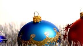 Christmas decoration stock video