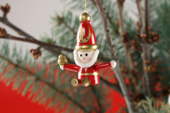 Christmas decoration. Close up of christmas decoration royalty free stock images