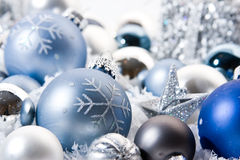 Christmas Decoration. Holidays Season. Christmas decorative ornaments stock image