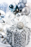 Christmas Decoration. Holidays Season. Christmas decorative ornaments royalty free stock images