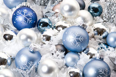 Christmas Decoration. Holidays Season. Christmas decorative ornaments stock photo